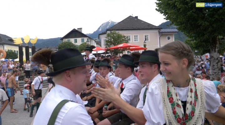 Am 03. August: Seefest in Strobl am Wolfgangsee